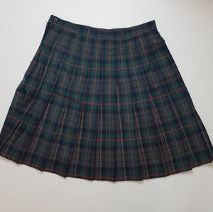 Vintage Casual Corner plaid skirt